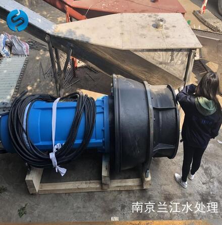 中吸式潛水軸流泵
